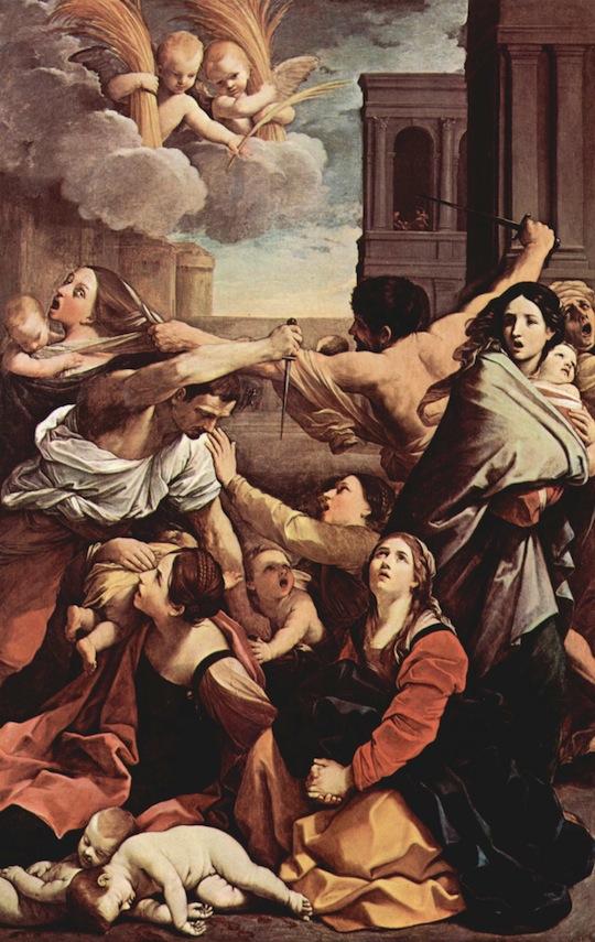 Martírio dos Santos Inocentes, a mandato de Herodes (Guido Reni)