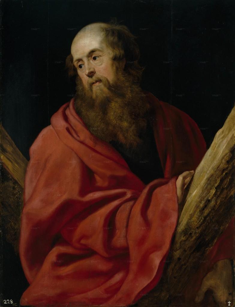 Santo André Apóstolo, protetor do Mês de Fevereiro