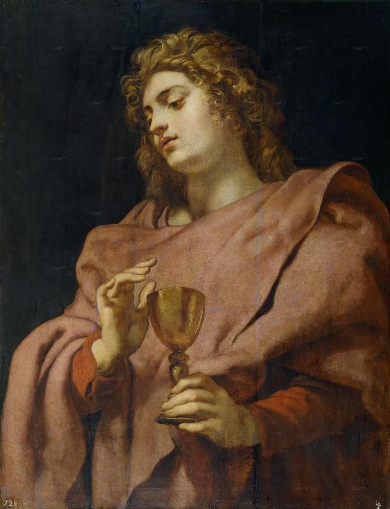 São João Apóstolo e Evangelista, protetor do Mês de Abril