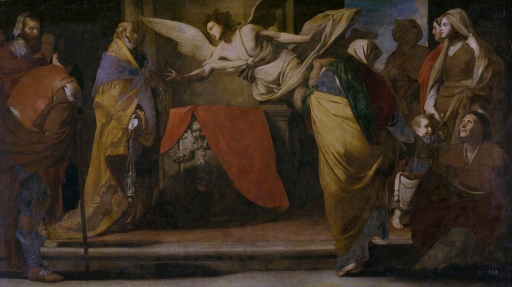 Nascimento de São João Batista (Stanzione Massimo)