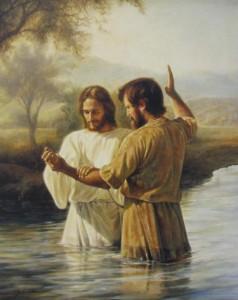 Batismo de Jesus, por João Batista