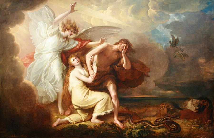 Expulsão de Adão e Eva do Paraíso (Benjamin West)
