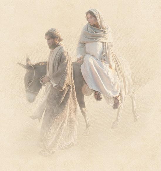 Caminho a Belém, José e Maria