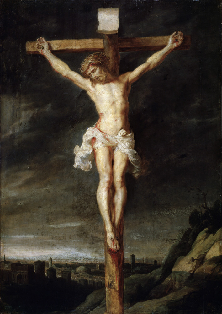 Cristo padeceu na Cruz por amor a nós!