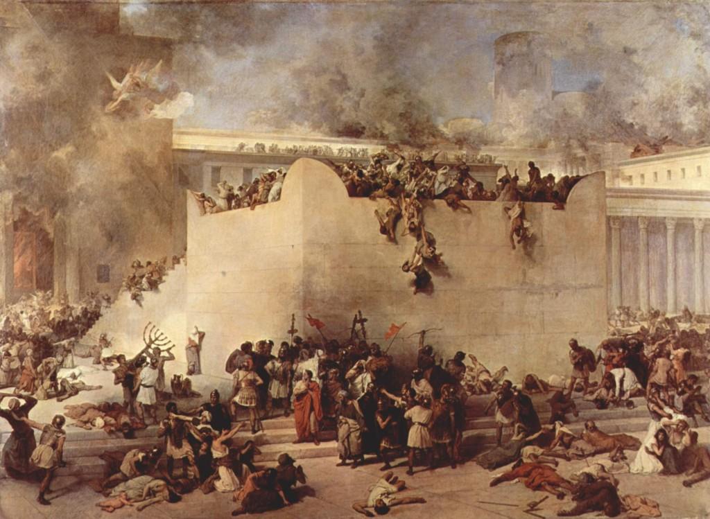 Destruição de Jerusalém (Francesco Hayez)