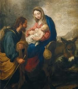 Fuga da Sagrada Família para o Egito