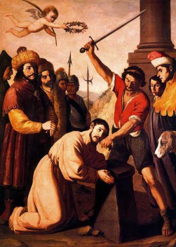 Martírio de São Tiago, a pedido de Herodes