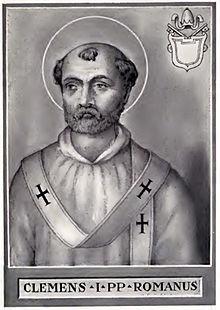 Papa São Clemente I, 4º Pontífice e sucessor de São Anacleto I
