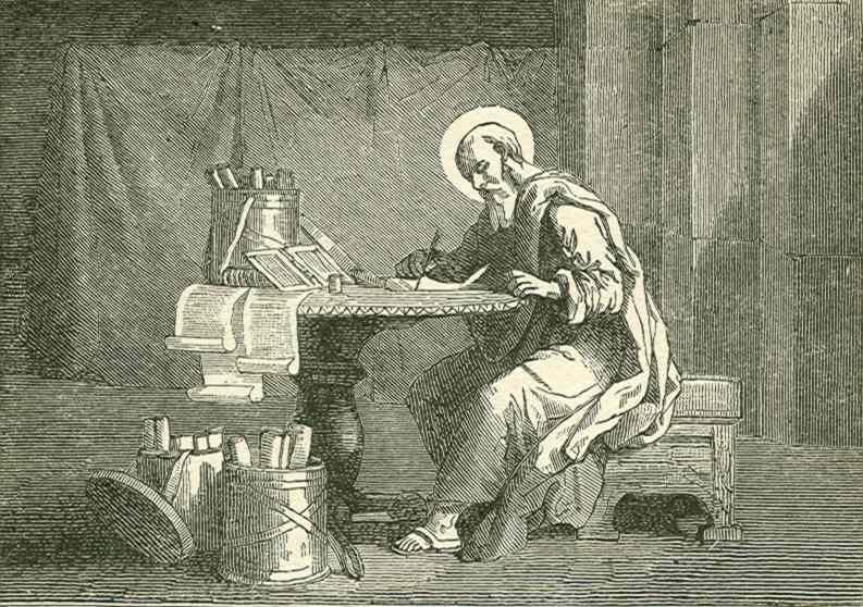 Papa Clemente I escreve uma carta em resposta ao cisma em Corínto