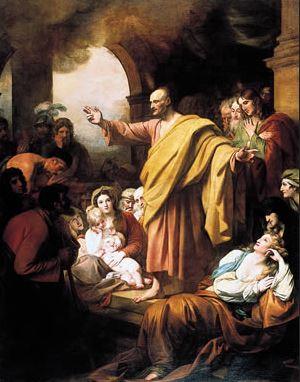 Primeira pregação de São Pedro