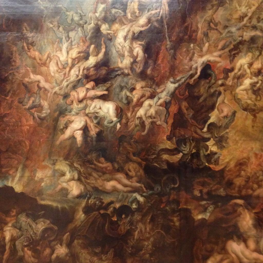 A queda dos reprobos no Inferno (Rubens)