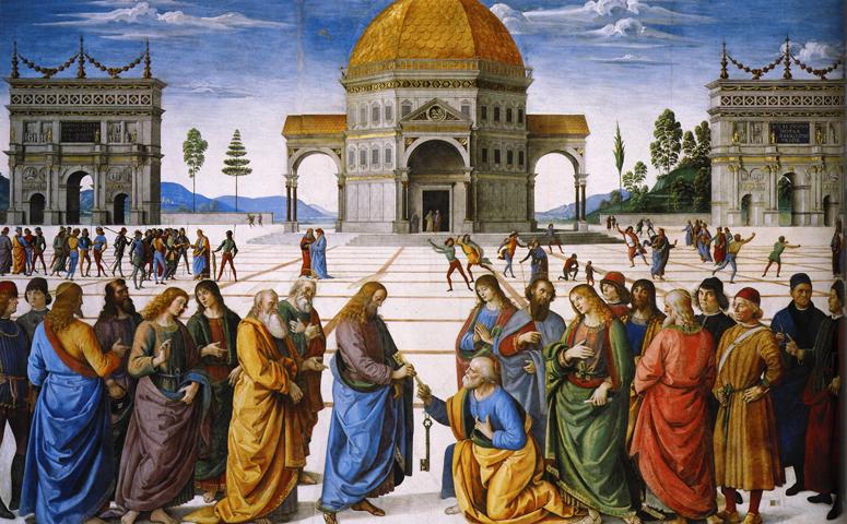 Instituição da Igreja Católica por Jesus Cristo, sob São Pedro