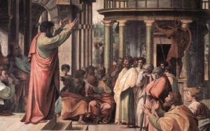 São Pedro pregando o Evangelho