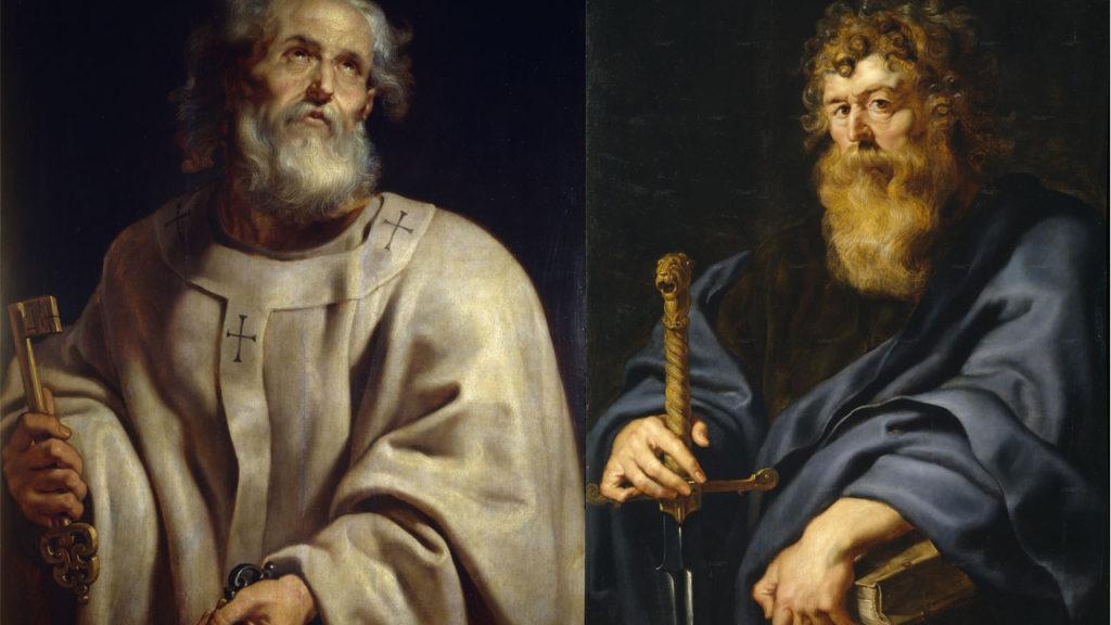 São Pedro e São Paulo Apóstolos, protetores do Mês de Janeiro