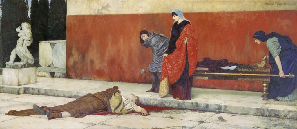 Suicídio do Tirano Imperador Nero