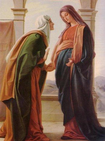 Visitação de Nossa Senhora à sua prima, Santa Isabel
