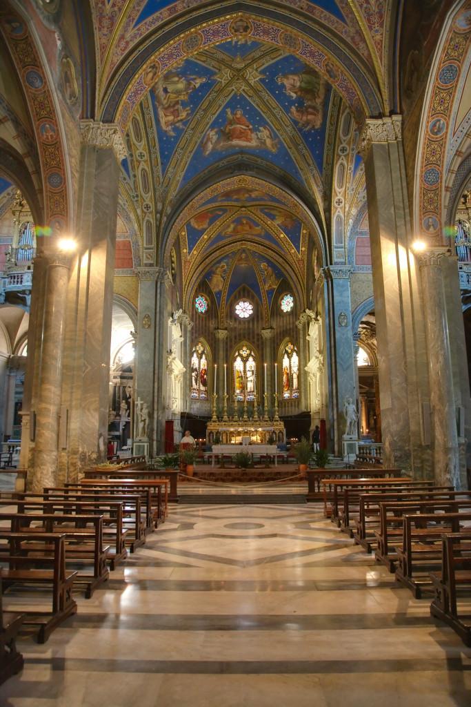 Altar da Igreja de Santa Maria sopra Minerva