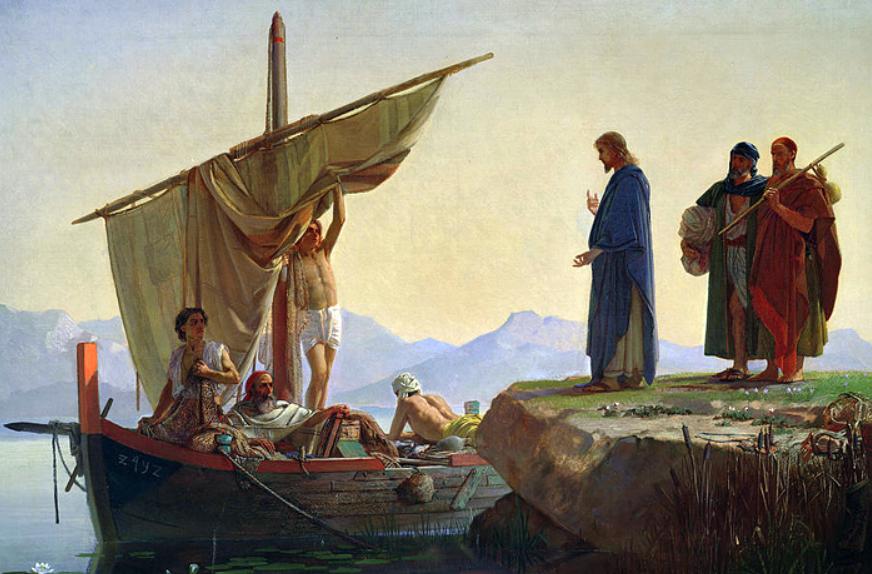 Cristo chamando os Apóstolos (Edward Armitage)