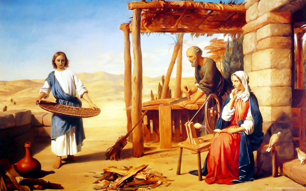 Sagrada Família, modelo de família cristã