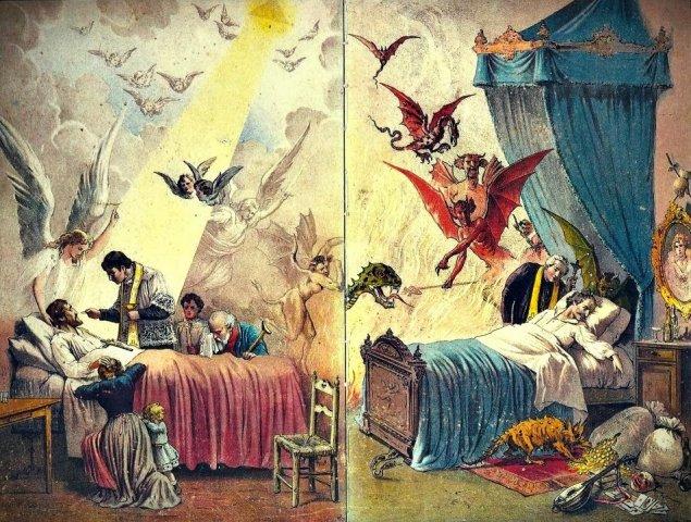 A morte do Justo e a morte do Pecador