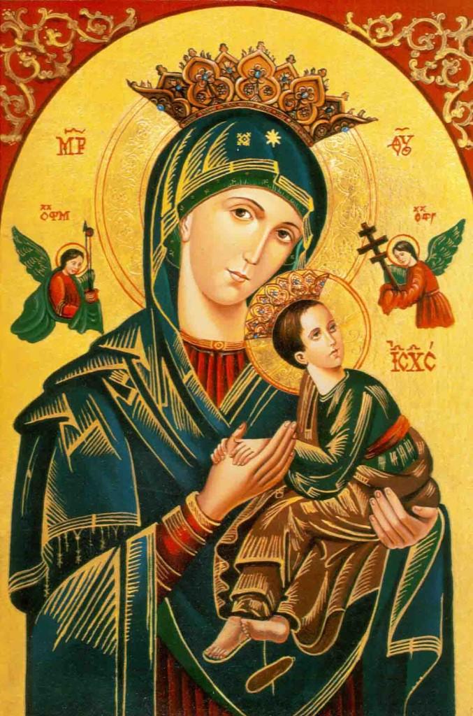 Nossa Senhora do Perpétuo Socorro, rogai por nós