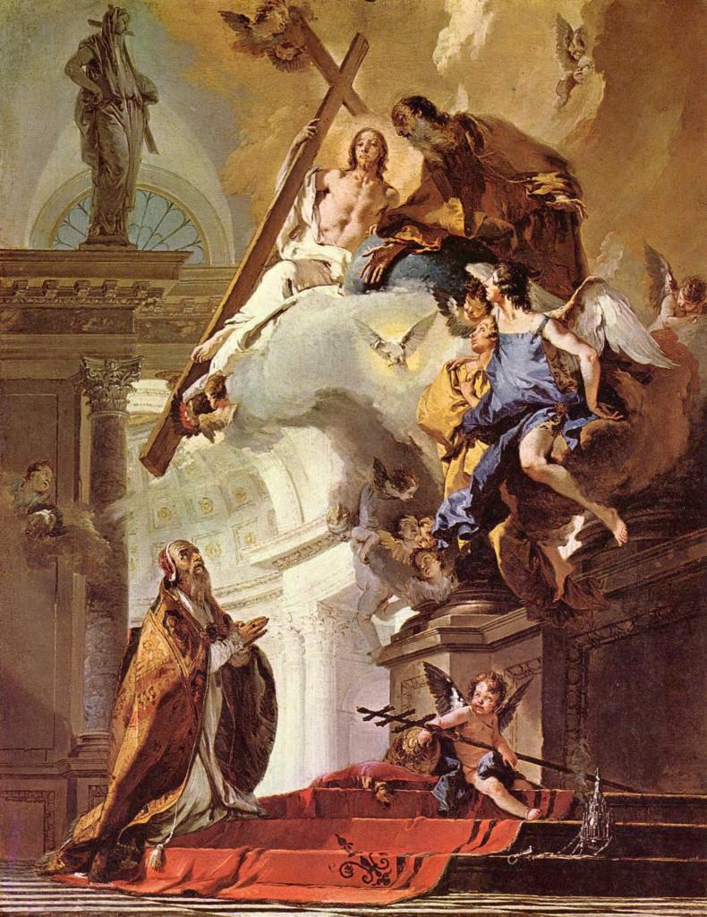 Papa São Clemente (Tiepolo)