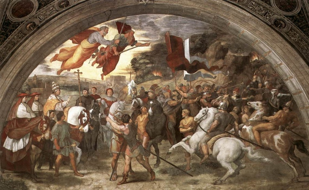 Encontro do Papa Leão I e Átila (Rafael)