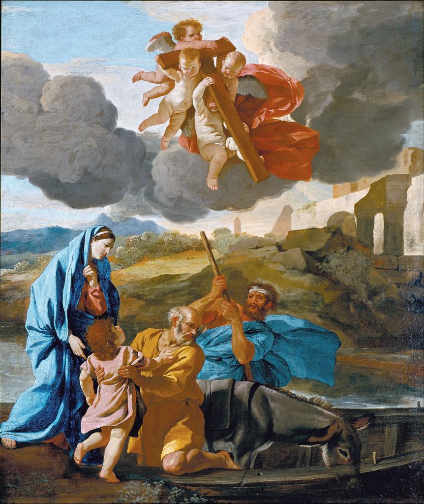 Retorno da Sagrda Família do Egito (Nicolas Poussin)