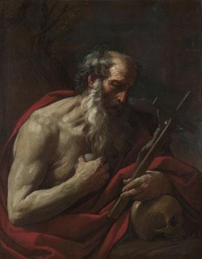 São Jerônimo com a Cruz e a Caveira (Guido Reni)