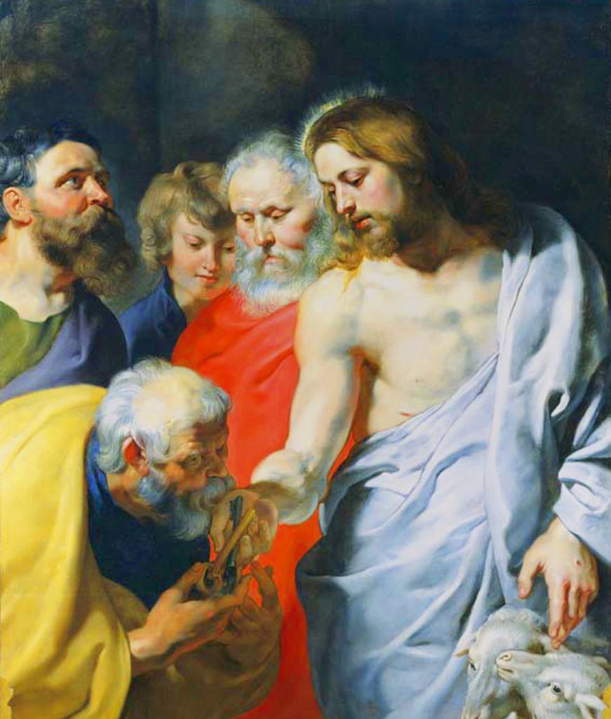 São Pedro e Jesus Cristo (Paul Rubens)