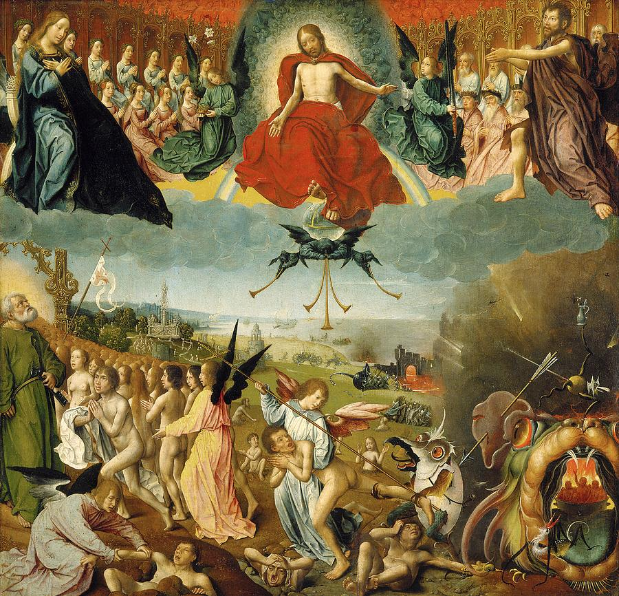 O Juízo Final (The Last Judgement de Jan II Provost)