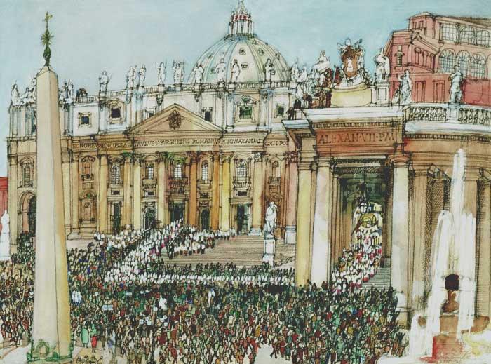 Vaticano - pintura