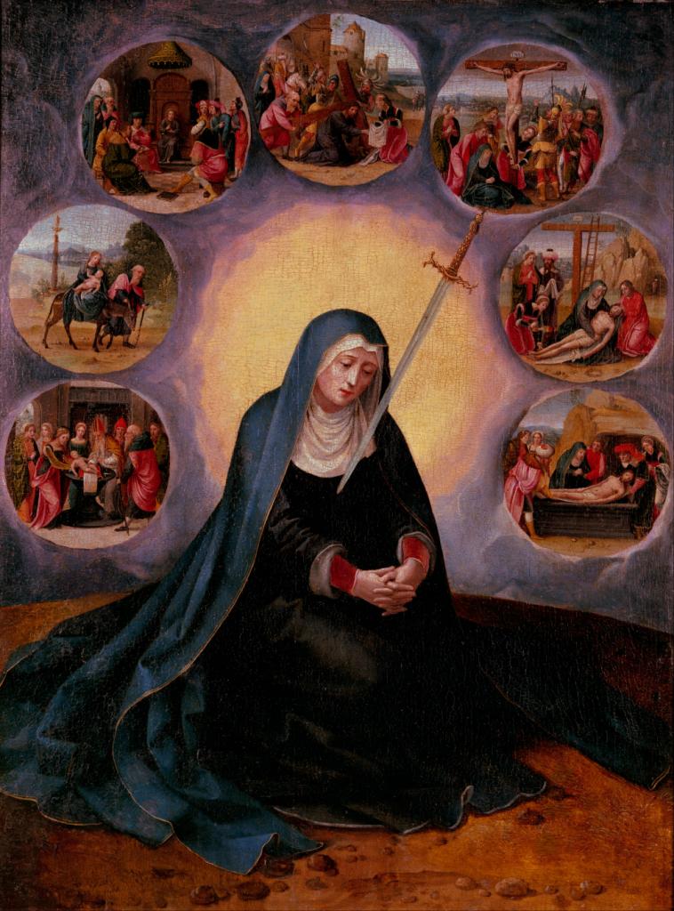 As 7 dores de Maria Santíssima