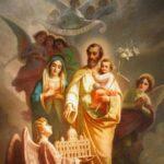 Convivência de São José com Jesus e Maria