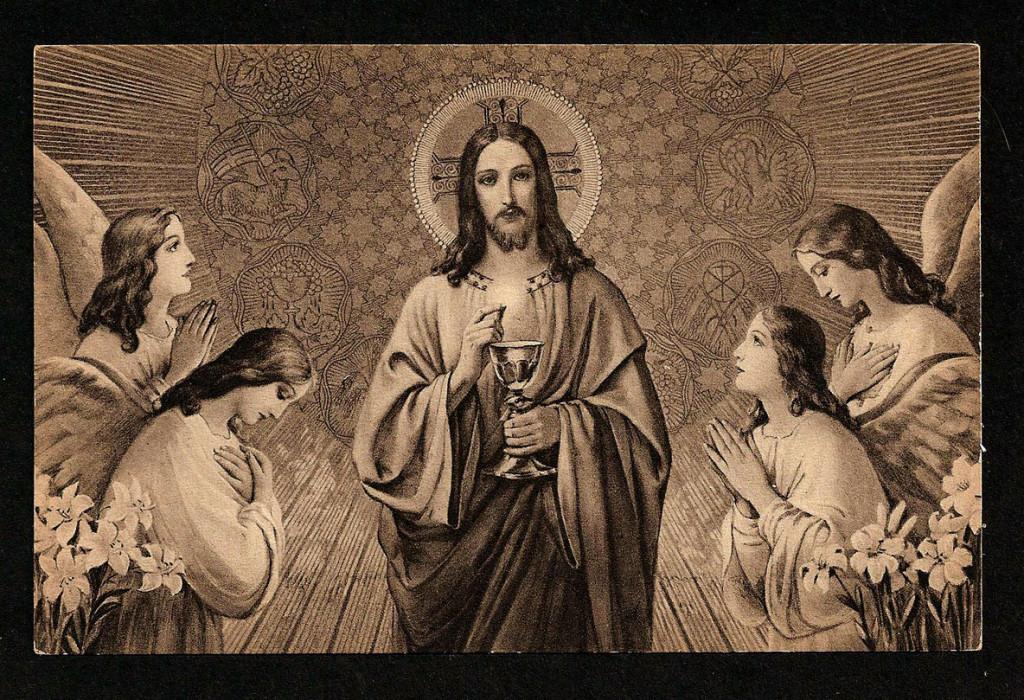 Santa Comunhão - Eucaristia