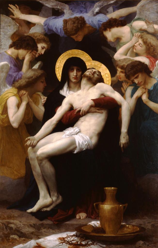Nossa Senhora das Dores, Pietà (Bouguereau, 1876)