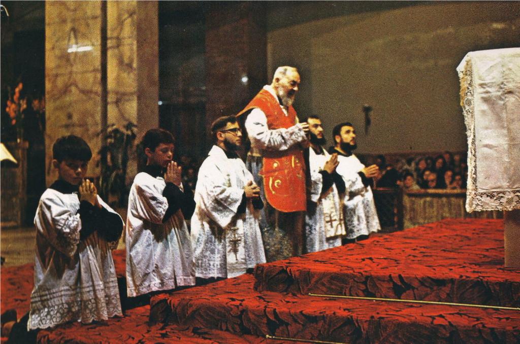 A Missa de Pe. Pio