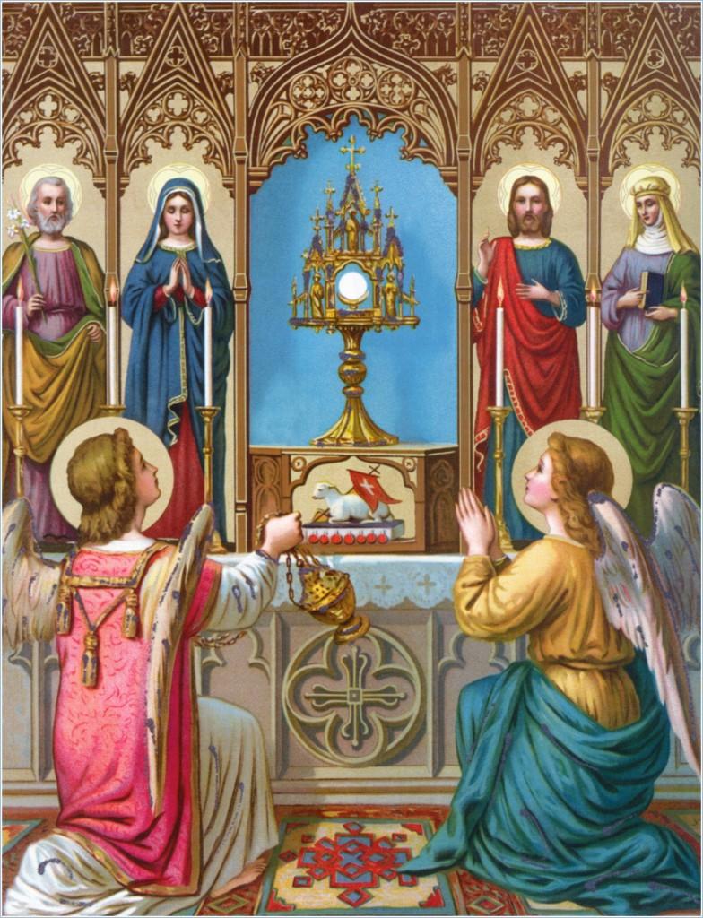 Adoração Eucaristica