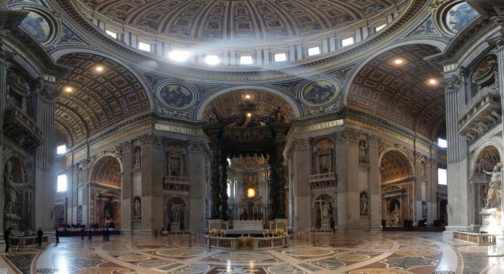 Altar no Vaticano
