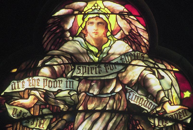 """""""Bem-aventurados os pobres de espírito, porque deles é o reino dos céus"""""""