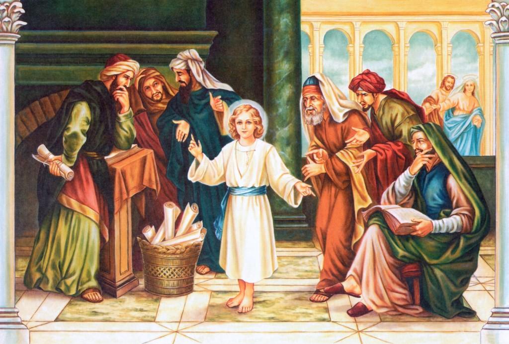 Encontro de Jesus no Templo
