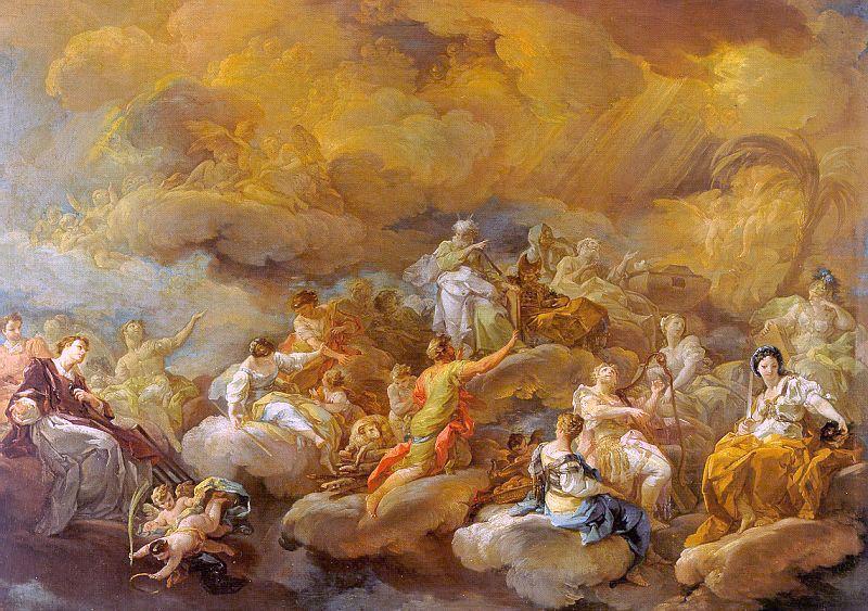 A glória dos Santos (Corrado Giaquinto)