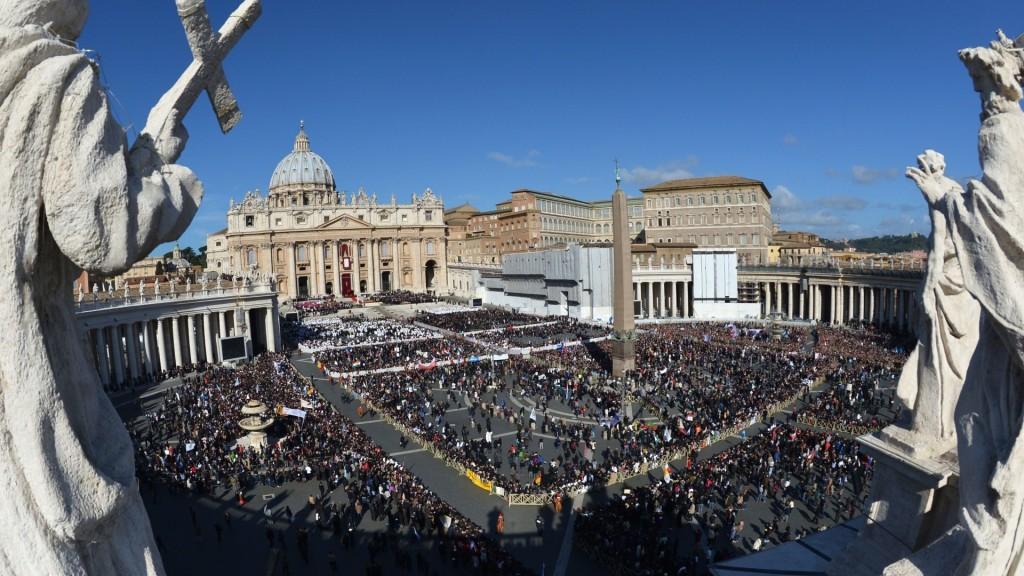 Cidade do Vaticano, praça São Pedro