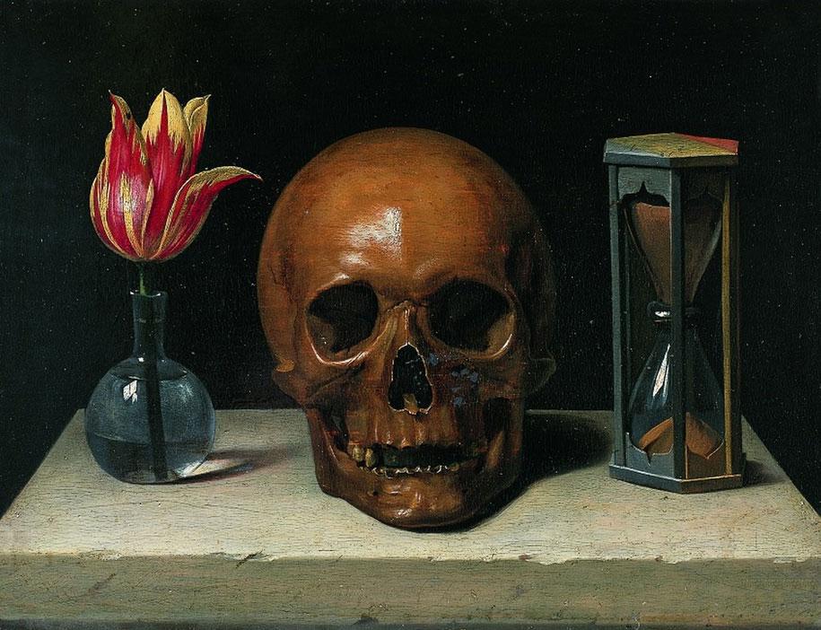 Vida, Morte e Tempo - Memento Mori (Philippe de Champaigne's Vanitas 1.671)