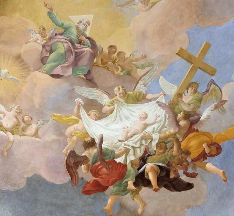 Cristo, o novo Adão (Annakirche Vienna)