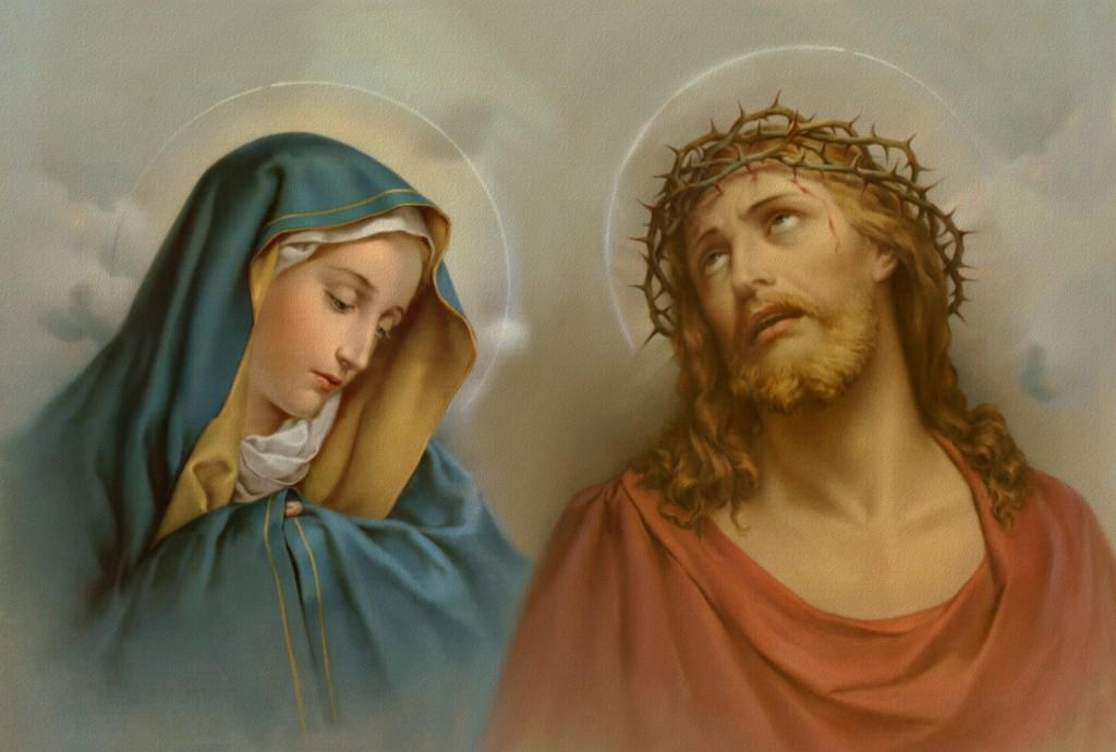 Nosso Senhor e Maria Santíssima