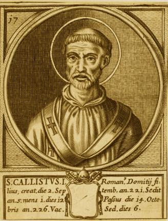 São Calixto I, Papa