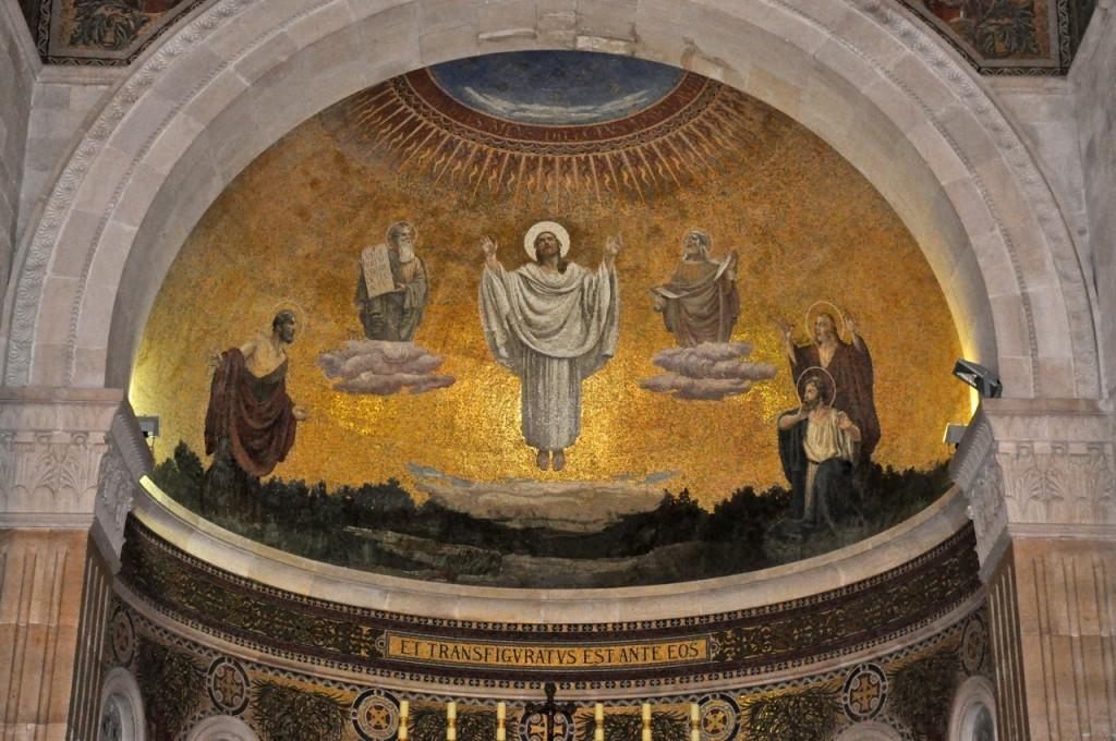 Transfiguração de Jesus, Mosaico