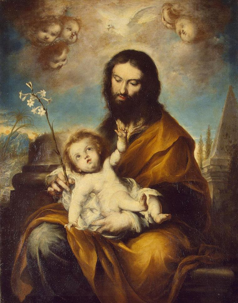 São José e o Menino Jesus (Torres Clemente)