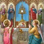 União da alma com Jesus na Santa Comunhão